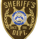 Embroidered Patch for Sheriff Department