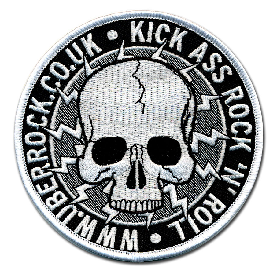 Uber Price Quote >> Custom Embroidered Patches | Best Quality | Merrow Border Über Röck-Kick Ass Rock N Roll