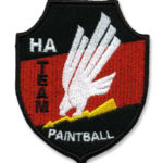 Custom Paintball Logo Patch Embroidery