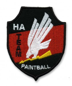 HA Paintball Embroidered Patch