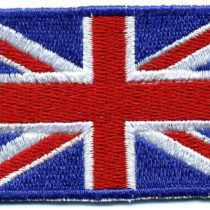 United Kingdom Flag Patch