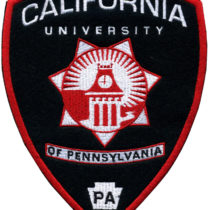 Custom Embroidered Patch for California University of Pennsylvania