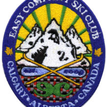 Custom Embroidered Patch for Easy Company Ski Club in Canada