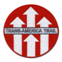 Custom Embroidered Patch for Trans America Trail