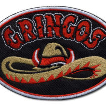 Embroidered patches for Gringos