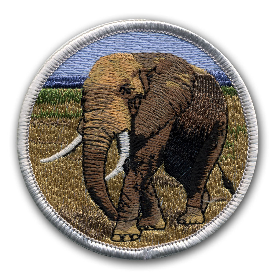 elephant - benefits of good quality embroidery design