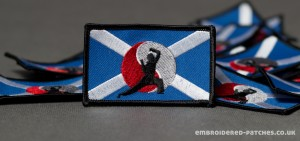 Scottish Fighting Arts Society embroidered patch