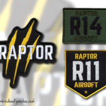 Raptor Airsoft Patches