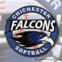 Chichester Falcons Softball patches
