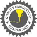 quality embroidery certificate badge
