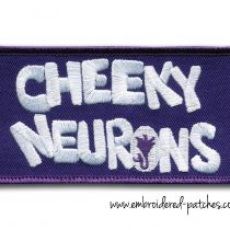 Embroidered Logo of Cheeky Neurons