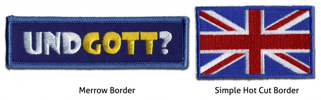 Quotation Form Custom Embroidered Patches Best Quality