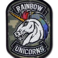 Military Style Rainbow Unicorns