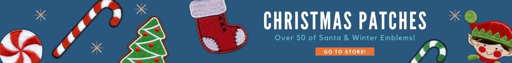 christmas patches baner