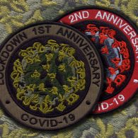 Patches of 1st Lockdown Anniversary
