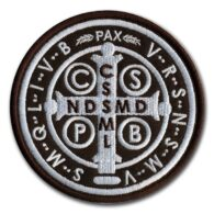 Reverse of the St Benedict Medal